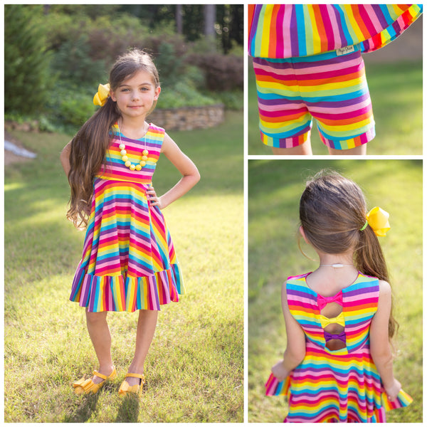 Rainbow Conleigh Dress Set