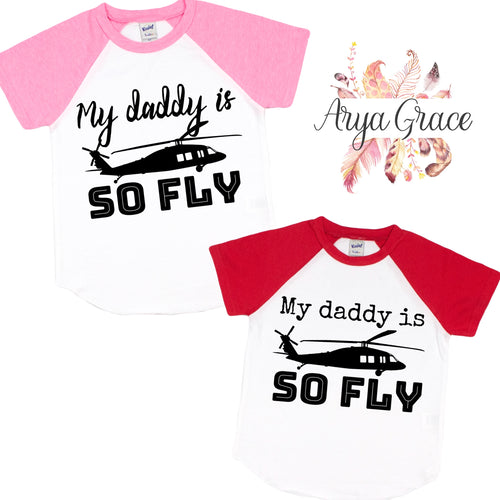 My Daddy is so Fly Graphic Tee (Infant, Toddler & Youth)