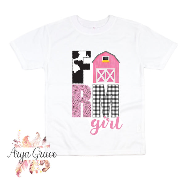 Farm Girl Graphic Tee