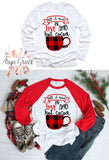 All I Need is Love and Hot Cocoa Graphic Tee
