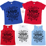 Sweet Land of Liberty Graphic Tee {Infant/Toddler/Youth}