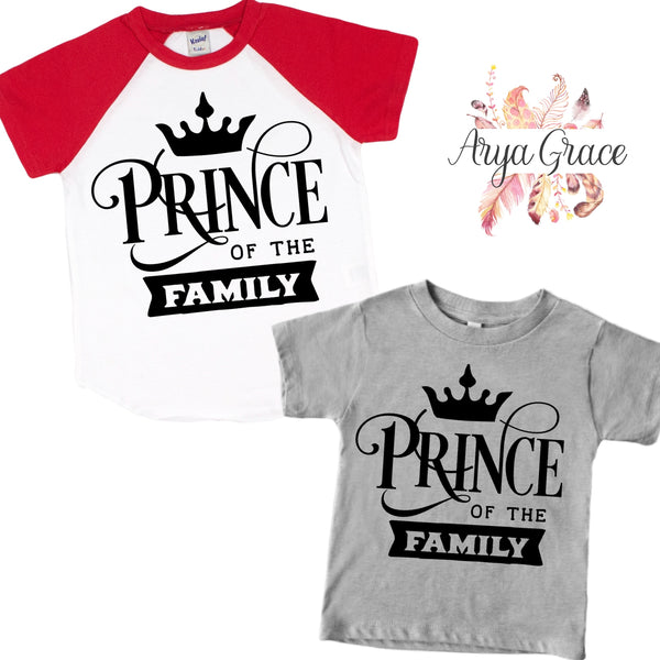 Prince Graphic Tee (Infant, Toddler & Youth)