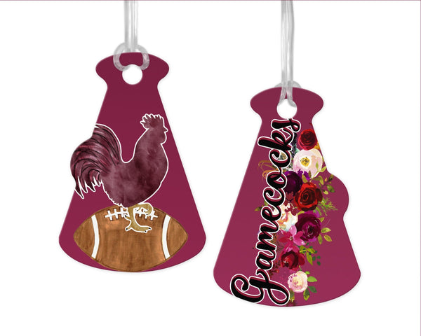 Megaphone Bag Tag (2 Sided) Choose ANY DESGIN listed in Kayla's T-Shirt Party