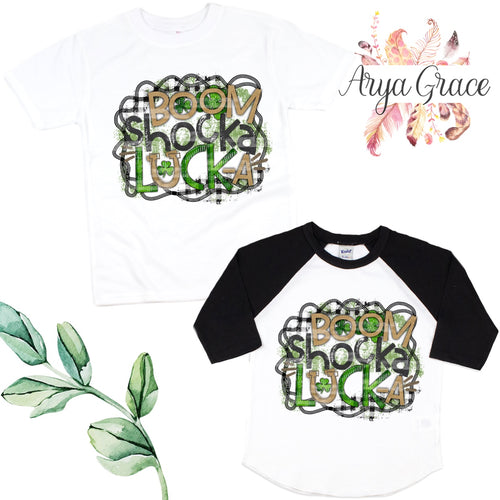 Boom Shocka Lock-A Graphic Tee {Infant/Toddler Youth}