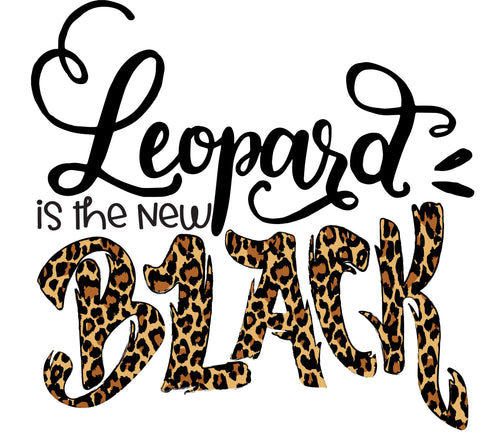 Leopard is the New Black Graphic Tee