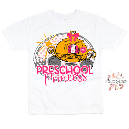 Preschool Princess Graphic Tee