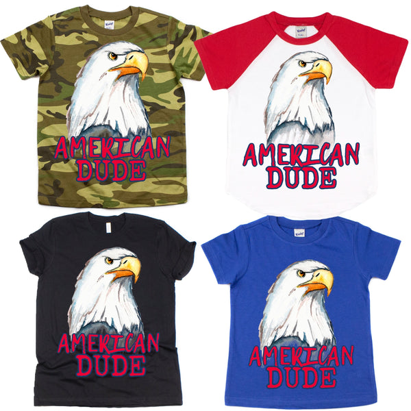 Eagle American Dude Graphic Tee {Infant/Toddler/Youth}