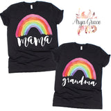 Rainbow Graphic Tee {Adult Sizing}