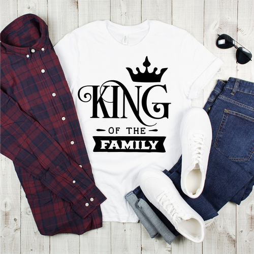 King Graphic Tee {Adult}