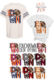 Touchdown Graphic Tee {Adult Sizing} Kayla's T-Shirt Party