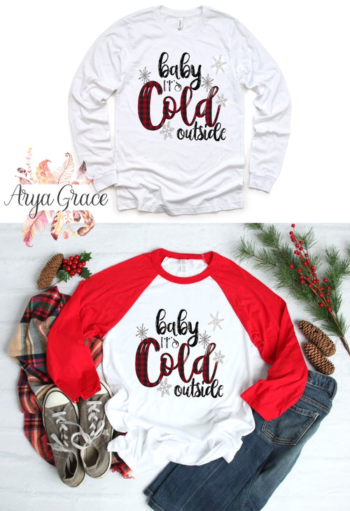 Baby It's Cold Outside Graphic Tee