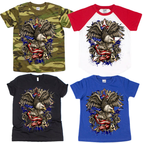 Patriotic Eagle Graphic Tee {Infant/Toddler/Youth}
