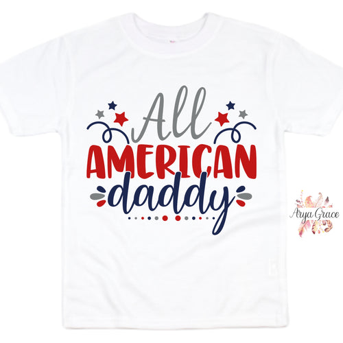 All American Daddy Graphic Tee {Adult}
