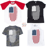 Distressed Flag Graphic Tee {Infant/Toddler/Youth}