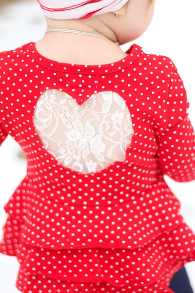 Full of Heart Peplum Top
