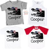 Patriotic Gator Graphic Tee {Infant/Toddler/Youth}