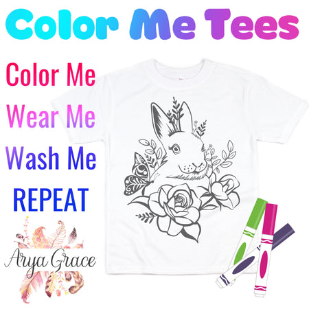Love is Magical Color Me💙Graphic Tee {Toddler/Youth Sizing}