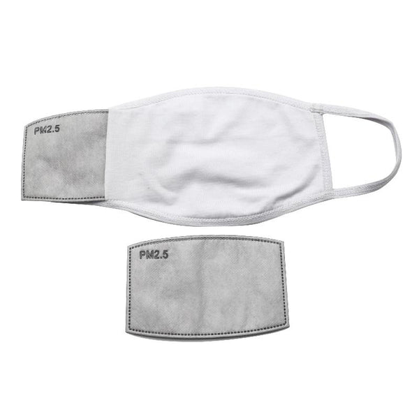 Men Face Mask with Filter Pocket