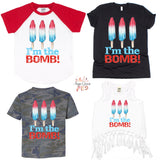 I'm the Bomb Graphic Tee {Infant/Toddler/Youth}