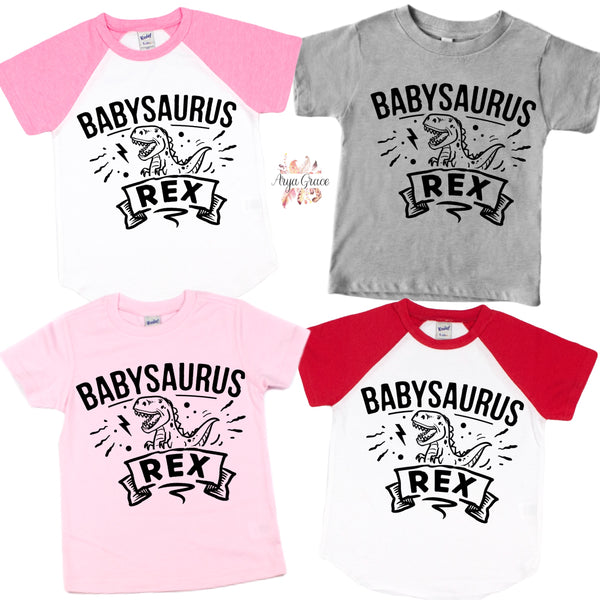 Babysaurus Rex Graphic Tee (Infant, Toddler & Youth)