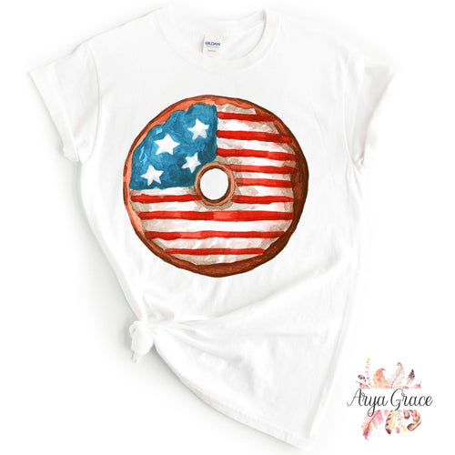 Donut Touch My Freedom Graphic Tee {Adult}