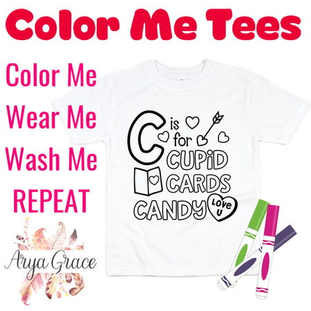 I Dig YouColor Me💙Graphic Tee {Toddler/Youth Sizing}