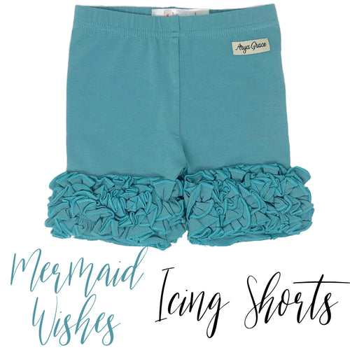 Mermaid Wishes Icing Shorties