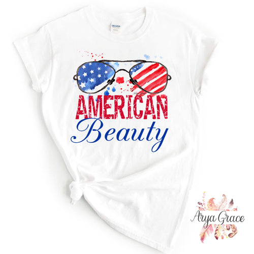 American Beauty Graphic Tee {Adult}
