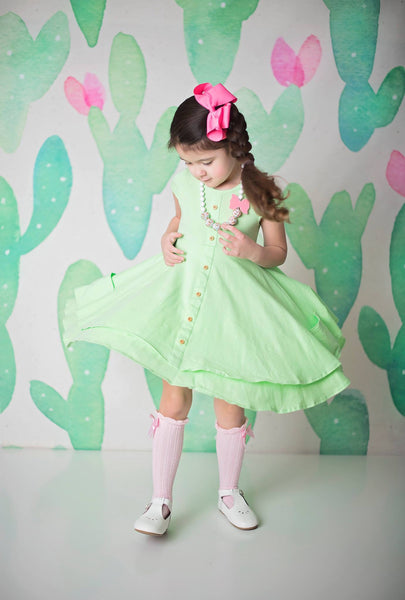 Mint Hensley Dress Set