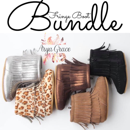 Fringe Boot Bundle