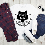 Papa Wolf Graphic Tee {Adult}