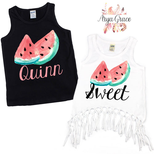 Watermelon Graphic Tee {Infant/Toddler/Youth}