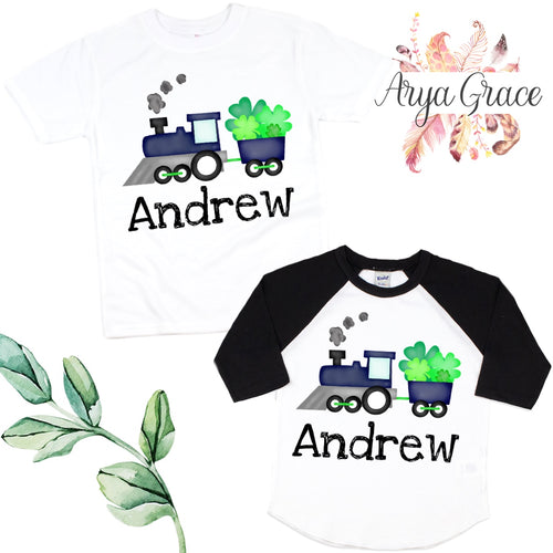 Train with Clovers Graphic Tee {Infant/Toddler Youth}