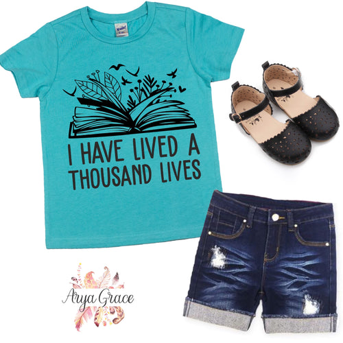 I Have Lived A Thousand Lives Graphic Tee