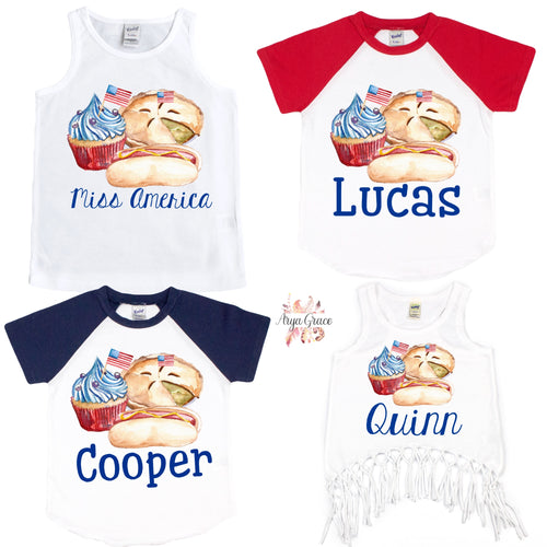 American Picnic Graphic Tee {Infant/Toddler/Youth}