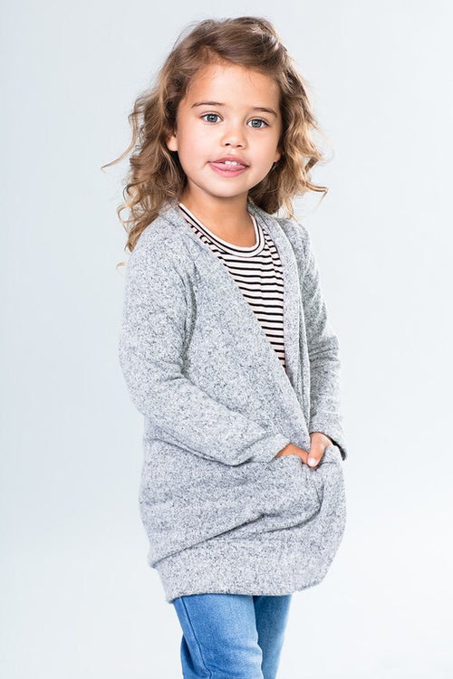 Toddler Two-Toned Cardigan (4 Colors Available)