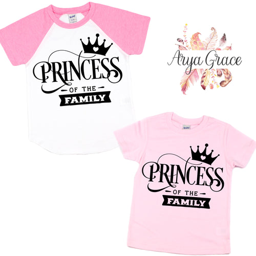 Princess Graphic Tee (Infant, Toddler & Youth)