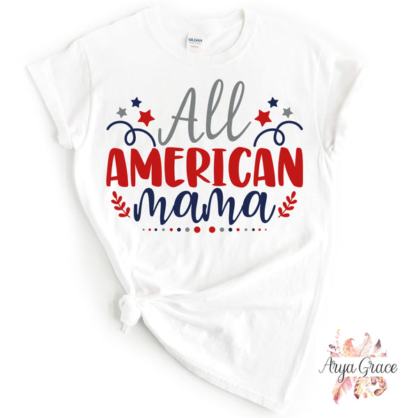 All American Mama Graphic Tee {Adult}
