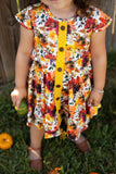 Autumn Floral Hensley Dress Set
