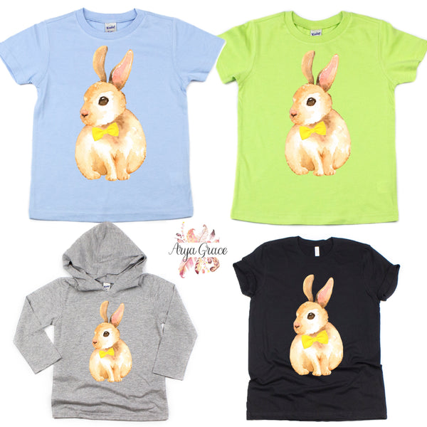 Bunny with Bow Tie Graphic Tee