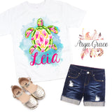 Sea Turtle Graphic Tee {Infant/Toddler/Youth Sizing}