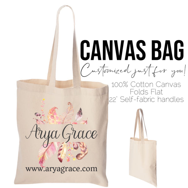 Customize Your Own Canvas Tote