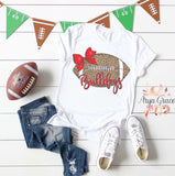 Cheetah Football Bulldogs Graphic Tee {Adult Sizing}
