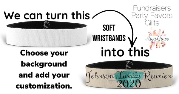 Create My Own Wristbands (Great for Businesses, Party Favors, Fundraisers & More!)
