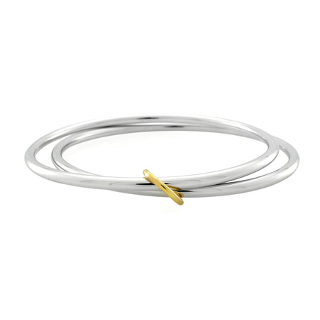 Dagny T-Bar Necklace, Gold Vermeil