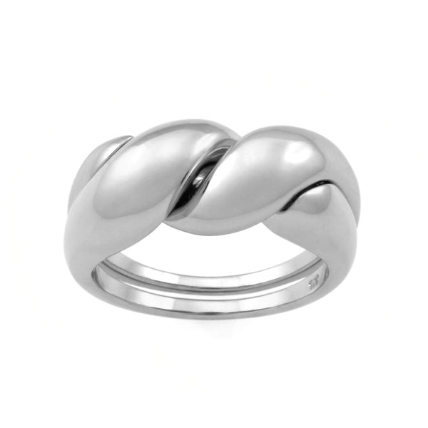 The Puzzle Ring. Sterling Silver - MONARC CONCIERGE