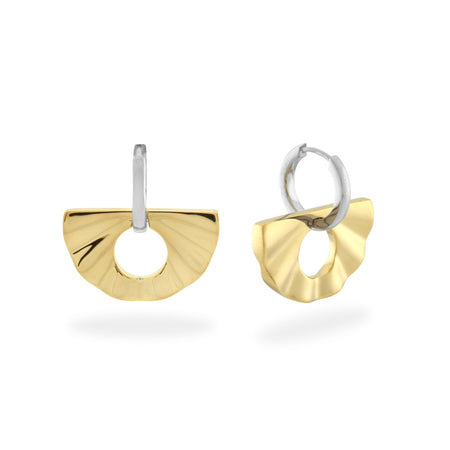 L'Ovale Earrings. Rose Gold Vermeil