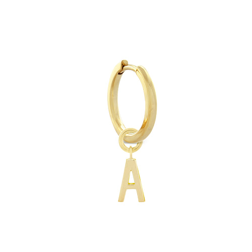 Alphabet Earring Charms and Necklace Pendants - MONARC CONCIERGE