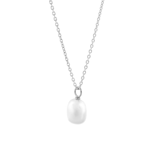 Baroque Perla Necklace. Sterling Silver - MONARC CONCIERGE