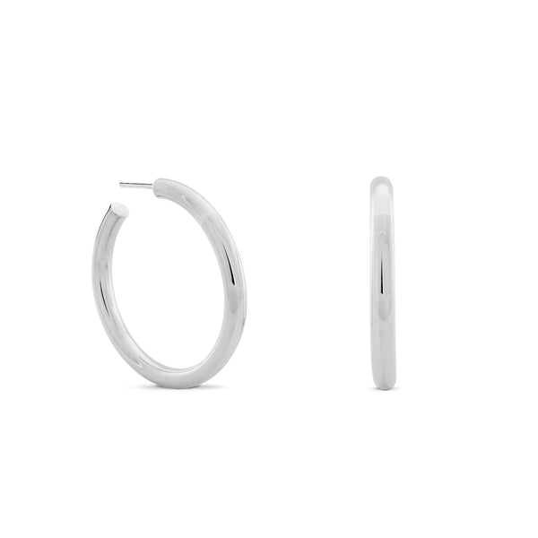 Chubbies Hoops. Sterling Silver - MONARC CONCIERGE